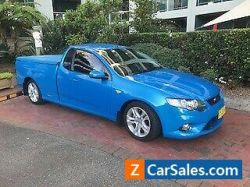 2011 MODEL LIMITED EDITION STUNNING CONDITION XR6 FALCON UTE AUTOMATIC