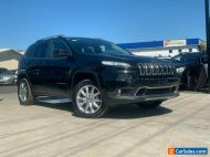 2016 Jeep Cherokee KL Limited Wagon 5dr Spts Auto 9sp 4x4 2.0DT [MY15] Black A