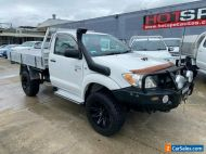 2008 Toyota Hilux KUN26R SR White Automatic A Cab Chassis