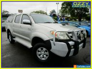 2006 Toyota Hilux KUN26R 06 Upgrade SR5 (4x4) Gold Manual 5sp M