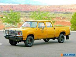 1978 Dodge Power Wagon Crew Cab