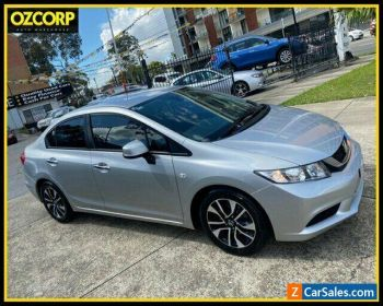 2015 Honda Civic Series 2 MY15 VTi-S Silver Automatic 5sp A Sedan for Sale