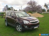 Holden Captiva 5 CG series2  (4CYL2.2 turbo diesel)Registered. to 17-1-21