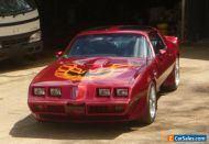 Pontiac Trans Am Firebird, 1979 model, 403 v8, auto, RHD, suit chevrolet buyers