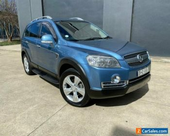 2008 Holden Captiva Blue Automatic A Wagon for Sale
