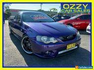 2004 Ford FPV BA Pursuit Purple Manual 5sp M Utility