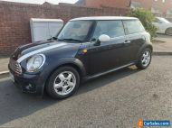 Mini Cooper D 2008 1.6 6 speed manual black with white roof