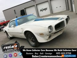 1970 Pontiac Trans Am Ram Air III 4-Speed #'s Matching Survivor