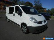 2014 Renault Trafic L2H1 MY11 2.0 DCI LWB White Manual 6sp M Van
