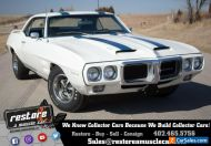 1969 Pontiac Trans Am 400 Ram Air III, 4-speed, PHS, Gauge Stack, D80