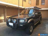 NISSAN PATROL Ti GU 4X4 7 SEATER AUTO - Not GQ Landcruiser Pajero Jeep Cherokee