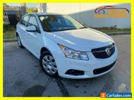 2012 Holden Cruze JH Series II CD Sedan 4dr Spts Auto 6sp 1.4T [MY12] White A