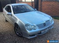 MERCEDES C200 CDI SE COUPE 2007 57REG AUTOMATIC MOT AUG 2021 154000 WITH HISTORY
