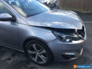 Damaged Repairable Peugeot 308 Allure 2l diesel estate - many extras (see Ad)