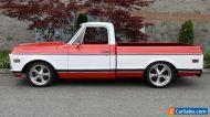1969 Chevrolet Cheyenne 1/2 Ton Short Wide Show Truck