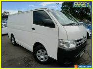 2013 Toyota HiAce TRH201R MY12 Upgrade LWB White Manual 5sp M Van