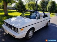 1991 Volkswagen Cabriolet CARAT