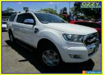2015 Ford Ranger PX MkII XLT 3.2 (4x4) White Manual 6sp M Double Cab Pick Up for Sale