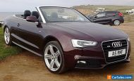 Special Edition Audi A5 convertible S Line Tfsi petrol not S5, only 59k miles