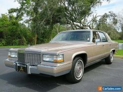 1991 Cadillac Brougham 4dr Sedan Only 82k Miles Leather Interior
