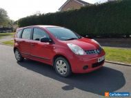2007 Nissan Note Visia 1.6 Petrol, Automatic, Low Mileage, Needs bodywork