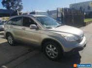 2009 Honda CRV Luxury Manual - Drives Well - Cold Air Con - Leather Sunroof