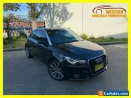 2012 Audi A1 8X Ambition Hatchback 3dr S tronic 7sp 1.6DT [MY12] Black A