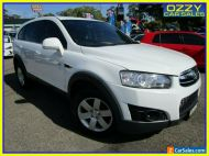 2012 Holden Captiva CG Series II 7 SX (FWD) White Automatic 6sp A Wagon