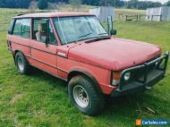 1979 Range Rover 2 door Restoration Project