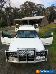 1993 XG Falcon Panelvan