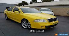 2009 Skoda Octavia 1Z MY09 RS Liftback 5dr Man 6sp 2.0T Yellow Manual M