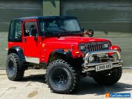 1993 Jeep Wrangler 4.0 High Output Manual 5SP 4x4 Modified in Red Project