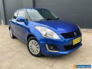2014 Suzuki Swift FZ GL Navigator Hatchback 5dr Auto 4sp 1.4i [MY14] Blue A