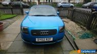 Audi TT 225 Kingfisher Quattro Roadster (Remapped to approx 260Bhp)