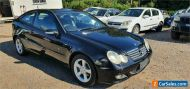 2005 Mercedes-Benz C180 CL203 MY06 Kompressor Black Automatic 5sp A Coupe