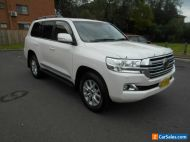 2016 Toyota Landcruiser VDJ200R MY16 Sahara (4x4) White Automatic 6sp A Wagon