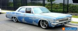 Bagged 1966 Chevy Impala