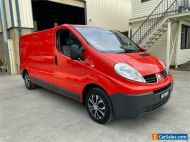 2014 Renault Trafic X83 Phase 3 Red Automatic A Van