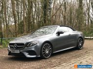 Mercedes E300 Convertible 2019 68 AMG Styling