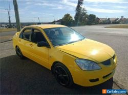 2006 Mitsubishi Lancer CH ES Yellow Manual M Sedan