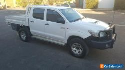 2013 Toyota Hilux SR turbo diesel 4x4 AUTO  KUN26R damaged repairable drives