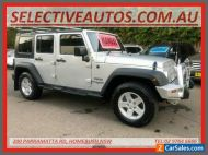 2010 Jeep Wrangler Unlimited JK MY09 Sport (4x4) Silver Manual 6sp M Softtop