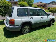 Subaru Forester 1998 manual parts cars