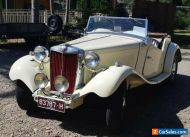 MG TD - 1953 restored - (trade or swap considered)