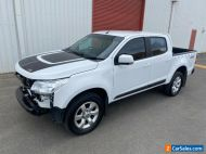 2015 Holden Colorado 4x4 turbo diesel AUTO 71km damaged repairable drives