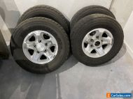 landcruiser 79 series GLX wheels