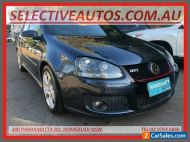 2008 Volkswagen Golf 1K MY08 Upgrade GTi Blue Manual 6sp M Hatchback