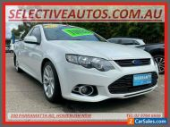 2014 Ford Falcon FG MK2 XR6T White Automatic 6sp A Utility