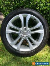 Audi genuine 20 inch Alloy wheels set off Audi SQ5  MY15
