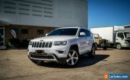 2013 Jeep Grand Cherokee WK MY14 Limited (4x4) White Automatic 8sp A Wagon